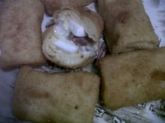 american risoles (with boiled egg, smoked beef, cheese, and mayonese)