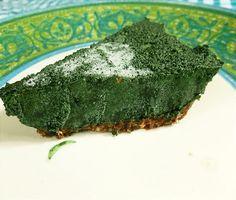 Superpower Spirulina Pie (Raw and Non-Raw Versions)