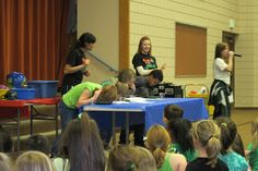 How Green Are You? Waste Management Team can come to your school.