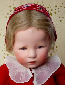 Käthe Kruse Hampelchen Glückskind angen.Stoffkopf,Strahleniris ,Patschhändchen  in Antiquitäten & Kunst, Antikspielzeug, Puppen & Zubehör, Käthe Kruse, Gefertigt vor 1945 | eBay