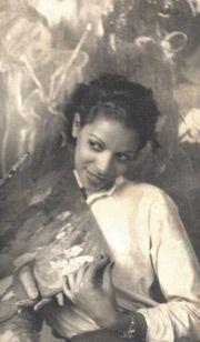Ortega  Clara Ledesma (1924-1999). Importante pintora dominicana, considerada en el tema étnico una de las más sobresalientes del Caribe.  Clara Ledesma formó parte del grupo Los cuatro junto a José Gausach, Jaime Colson y Gilberto Hernández.
