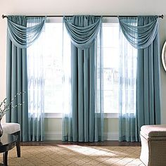 Benefits Of Using Sheer Curtains - DIY Tips | Contrast color