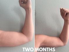 arm workout, just a few times a week