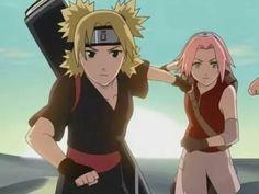 Temari and Sakura