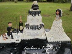 torta wedding Bianca e Nera