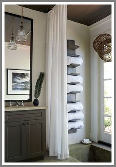 towel rack over toilet-#towel #rack #over #toilet Please Click Link To Find More Reference,,, ENJOY!! Diy Bathroom, Diy Bathroom Decor, Pool Bathroom, Bathroom Towel Storage, Diy Bathroom Design, Lake House Bathroom, Concrete Bathroom, Bathroom Design Inspiration, Concrete Bathroom Design