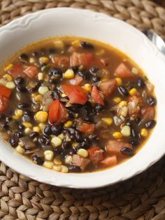 Summer Black Bean So