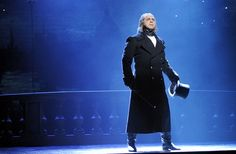 andrew varela as javert in les mis. i saw him in that role twice!