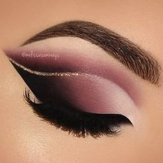 WEBSTA @ melissasamways - Dramatic Double Cut Crease