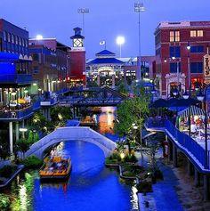Bricktown Canal in OKC