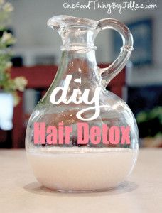 """Make your own diy hair detox by adding sea salt to your shampoo. sea salt gives hair a """"lift"""". Must fact check!"""