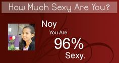 Check my results of How Much Sexy Are You? Facebook Fun App by clicking Visit Site button