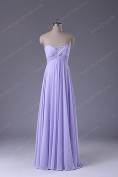 220d64b15d A-line Sweetheart Sleeveless Floor-length Elegant Chiffon Beading Prom Dress  2013 125.00 Grad