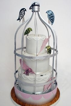 "Birds of a Feather... Posted from ""over the top wedding cakes"" on The Daily Meal.com"