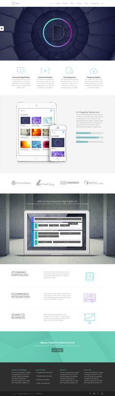 Divi - Smart & Flexible WordPress Theme http://www.elegantthemes.com/affiliates/idevaffiliate.php?id=20259&url=12414 #smart #wordpress