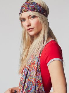 Pin for Later: 36 Festival Accessories That Aren't Flower Crowns  Joshipura For Free People Women's Dolce Vita Head Scarf ($34)