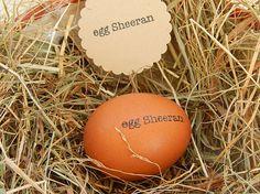 Egg Sheeran  Fun Stamp