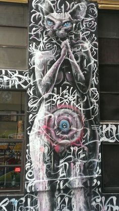 Melbourne's City Lane Way Graffiti..just photographed..