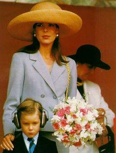 Princess Caroline of Monaco and Andrea Casiraghi.