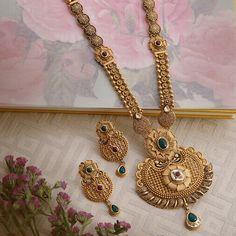Gold Bangles Design, Gold Jewellery Design, Antique Jewellery, Gold Jewelry, Fine Jewelry, Women Jewelry, Manubhai Jewellers, Fashion Necklace, Fashion Jewelry