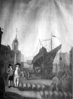 BRUXELLES (Belgique) 1791-1800 Voormalig dok Sint Catharina te Brussel