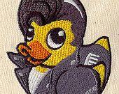 Greaser duck baby bib $15