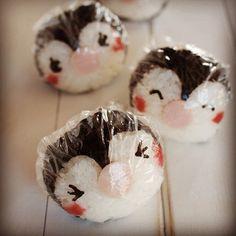 Penguin Rice Balls