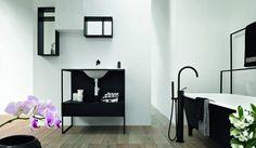 la colección de gabinetes MORPHING, cuenta con materiales innovadores y configuraciones inusuales para enriquecer cualquier sala de baño, exaltando su arquitectura.