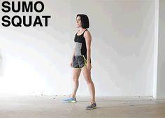squats, butt
