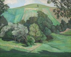 John Nash (1893-1977) - Dorset Landscape, 1930