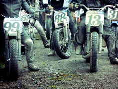 Warming up the engines to race...........