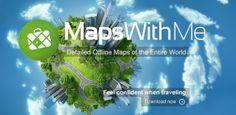 Maps With Me Pro, Offline Map v2.6.4 Apk Download Free