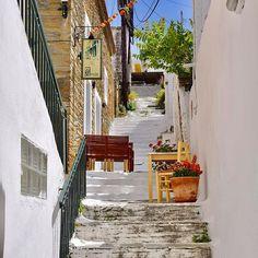 Andros island, Batsí, Kikladhes, Greece