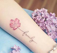 Small Tattoos For Women - Flower Tattoo Designs - . - Small tattoos for women – Flower Tattoo Designs – - Hot Tattoos, Wrist Tattoos, Mini Tattoos, Body Art Tattoos, Tatoos, Tattoo Girls, Tattoo Baby, Tattoos For Women Small, Small Tattoos