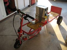 homemade go carts | Homemade (half) Go-Kart | Flickr - Photo Sharing!