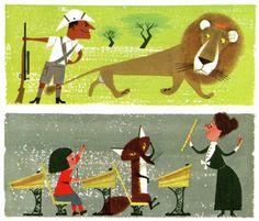 The Animal Fair Written & Illustrated by Alice Provensen & Martin Provensen