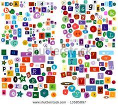 48 best fonts images on pinterest letter fonts script alphabet magazine cut out font spiritdancerdesigns Images