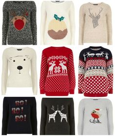 Christmas Sweaters // Fancy Ashley