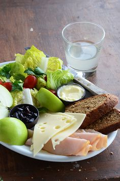 The Ploughman's Lunch - classic pub fare! It's a fabulous way of putting together an amazing salad.