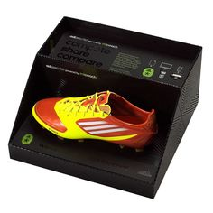 Adizero f50 Boot powered by Micoach is a revolutionary intelligent boot, measuring on-field performance including speed, maximum speed, number of sprints, time & distance.