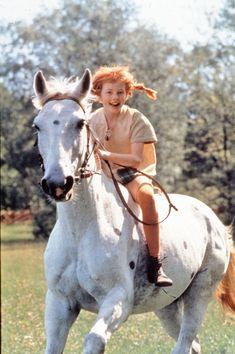 """Pippi Långstrump"" of Astrid Lindgren ""Pippi Langstrumpf"" von Astrid Lindgren The post ""Pippi Langstrumpf"" von Astrid Lindgren appeared first on Entertainment. Amazon Girl, Pippi Longstocking, Star Photography, Tier Fotos, Music Film, Wild Child, Happy Smile, Horseback Riding, Cute Art"
