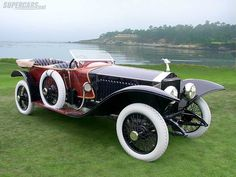 Labourdette Rolls-Royce Silver Ghost Skiff 1914  #RePin by AT Social Media Marketing - Pinterest Marketing Specialists ATSocialMedia.co.uk