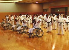 Andre Bertel's Karate-Dojo Asai Wheelchair Karate