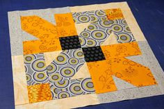 orange and gray quilts - Google Search