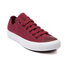 Shop for Converse All Star Lo Mono Sneaker in Maroon Monochrome at Journeys Shoes. Shop today for the hottest brands in mens shoes and womens shoes at Journeys.com.The All Star knows no bounds. From b-ball courts to punk clubs. From skateparks to school yards. The Converse All Star has come a long way, and its ready to take you even further. The original Old School never lets up. Features a maroon monochrome canvas upper and solid white rubber sole for stylish contrast. Available only online…
