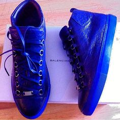 balenciaga sneakers arena blue online im giving yall the busyness