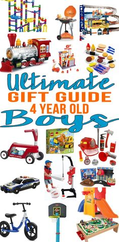 BEST Gifts 4 Year Old Boys Top Gift Ideas That Yr Will
