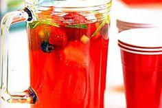 Fresh strawberry jelly