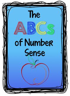 Math Coach's Corner: The ABCs of Number Sense.  How will you best meet the instructional needs of your kiddos?  It's all about the ABCs...