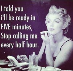 Good things take Time xoxo . #girlboss #marilynmonroe #inspoquote #nye #marilynmonroequotes
